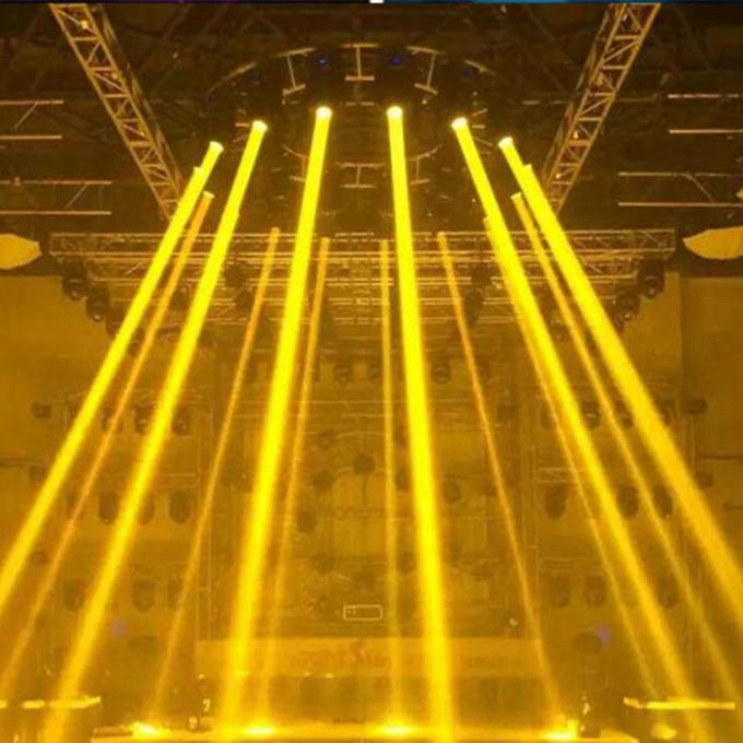 60w Commercial LED Stage Spotlights , Multi Color Intelligent Stage Lighting