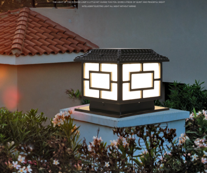 Solar Powered Exterior LED Landscape Lighting 3W Warm White Energy Saving