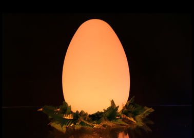 Battery Operated Led Outdoor Furniture Egg Shaped 26×29cm Adjustable Brightness