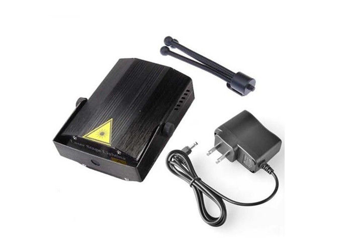 IR Remote Laser Light Projector Mini Black Shell 105x95x50 Mm For KTV