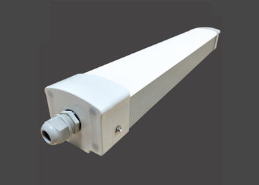 Emergency 30W LED Tri Proof Lights , Led Tube Light Fixture T8 4ft Corrosion Resistance