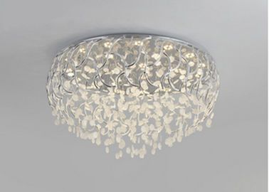 China Round Warm Round Crystal Pendant Lighting Led Lights For Bedroom Ceiling factory