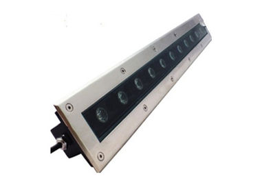 Linear Recessed In Ground Led Driveway Lights Stainless Steel Housing Easy Installation