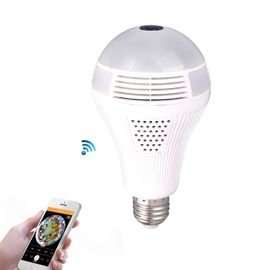 China 1.30MP 360 Panoramin Wifi Camera Light Bulb Smart Led Light Bulbs For Floor Lamps factory